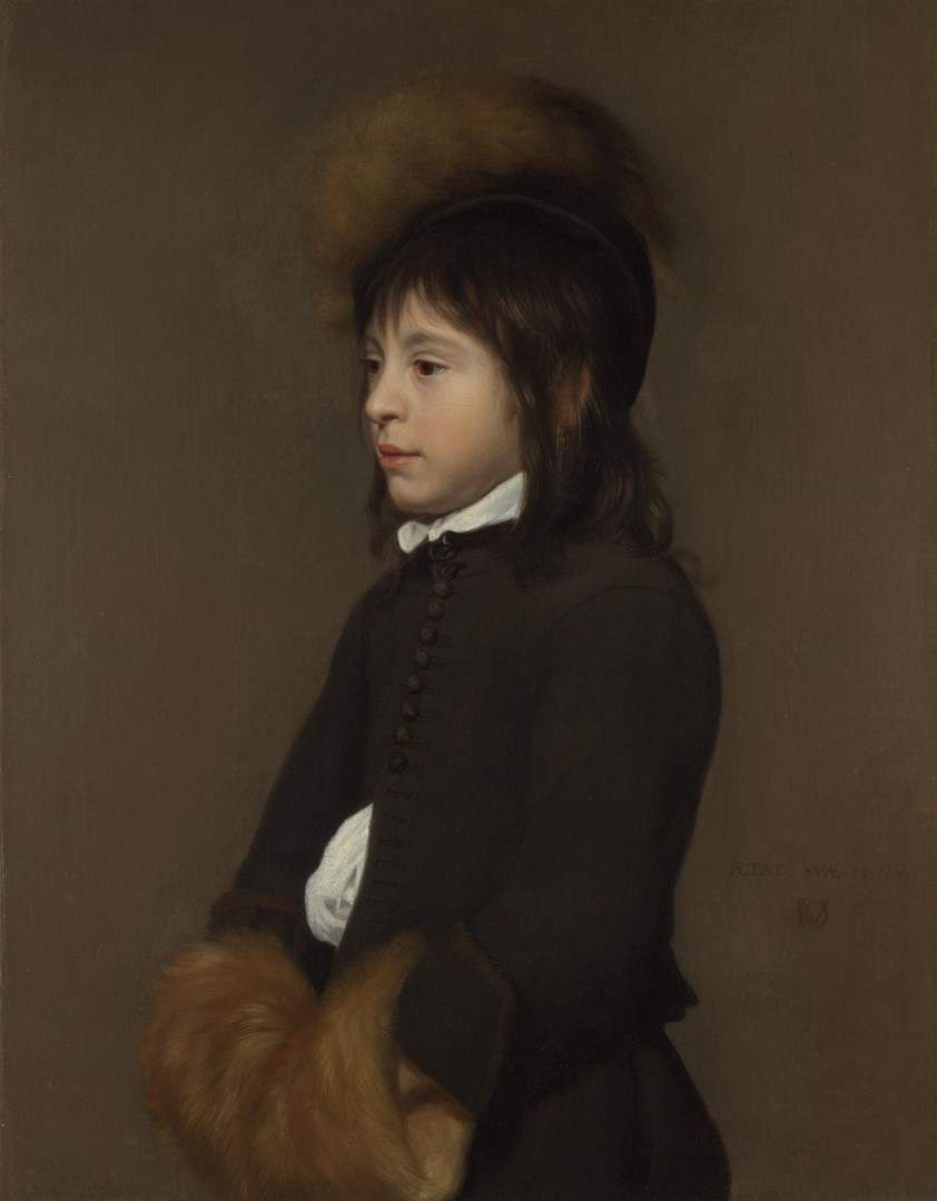 Portrait of a Boy aged 11 by Jacob van Oost the Elder