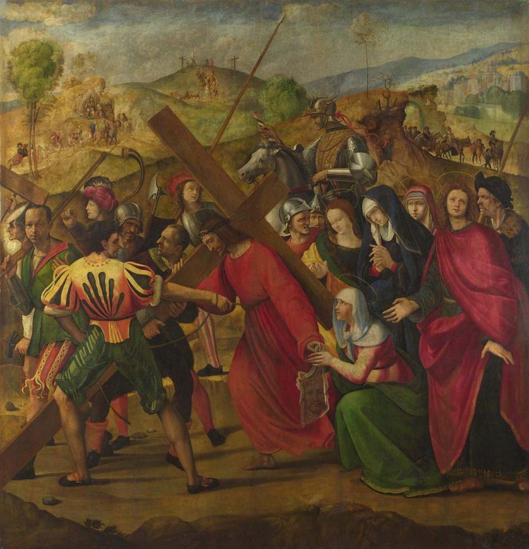 The Procession to Calvary by Ridolfo Ghirlandaio