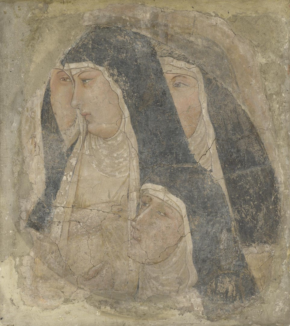 A Group of Four Poor Clares by Ambrogio Lorenzetti