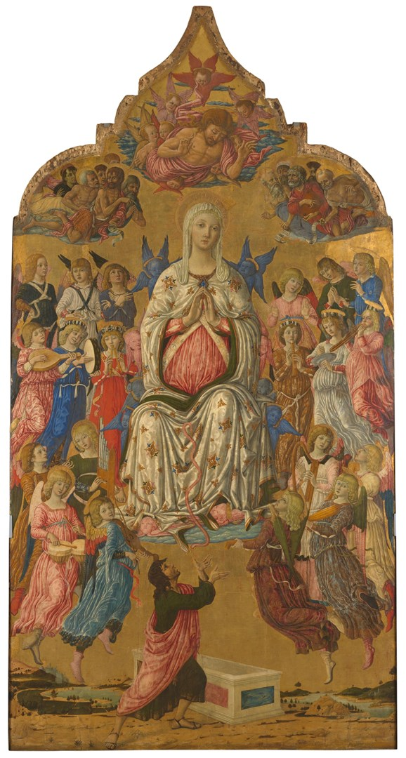 The Assumption of the Virgin by Matteo di Giovanni