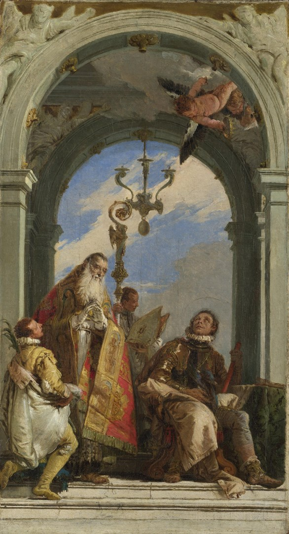 Saints Maximus and Oswald (?) by Giovanni Battista Tiepolo