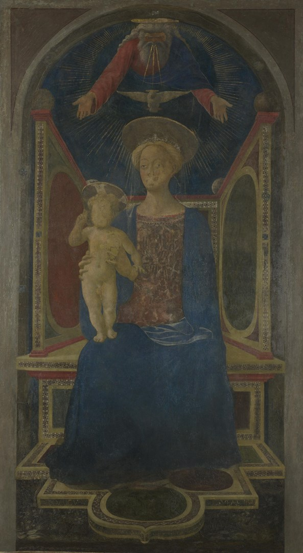 The Virgin and Child Enthroned by Domenico Veneziano