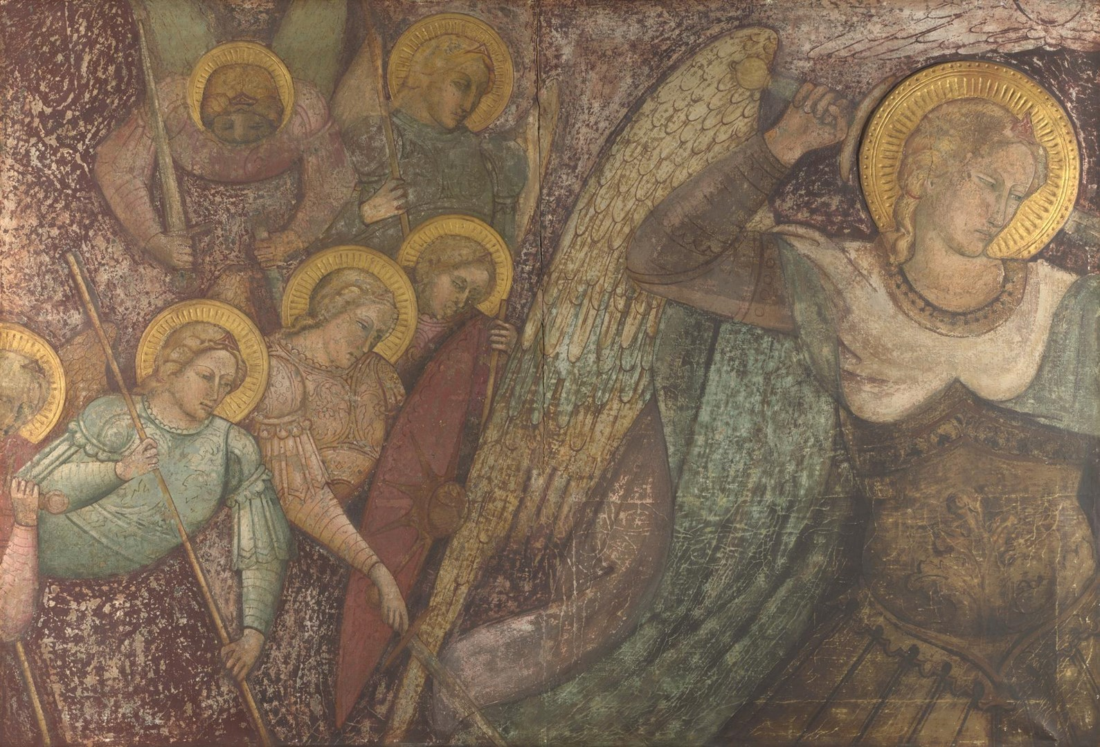 Saint Michael and Other Angels by Spinello Aretino