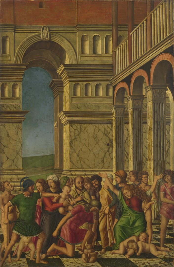 The Massacre of the Innocents by Gerolamo Mocetto