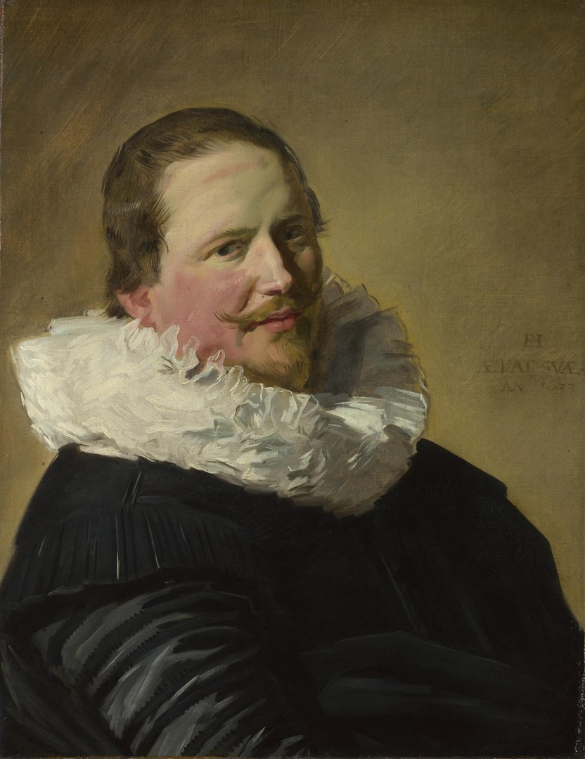 Portrait of a Man in his Thirties by Frans Hals