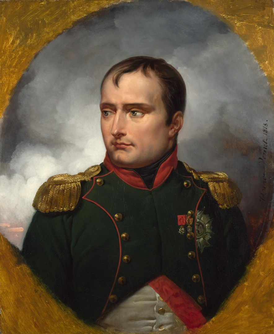 The Emperor Napoleon I by Emile-Jean-Horace Vernet