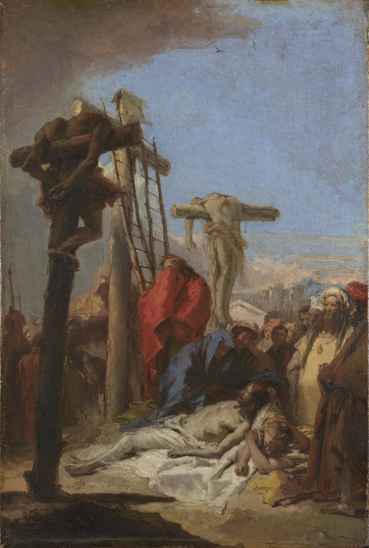 The Lamentation at the Foot of the Cross by Giovanni Domenico Tiepolo