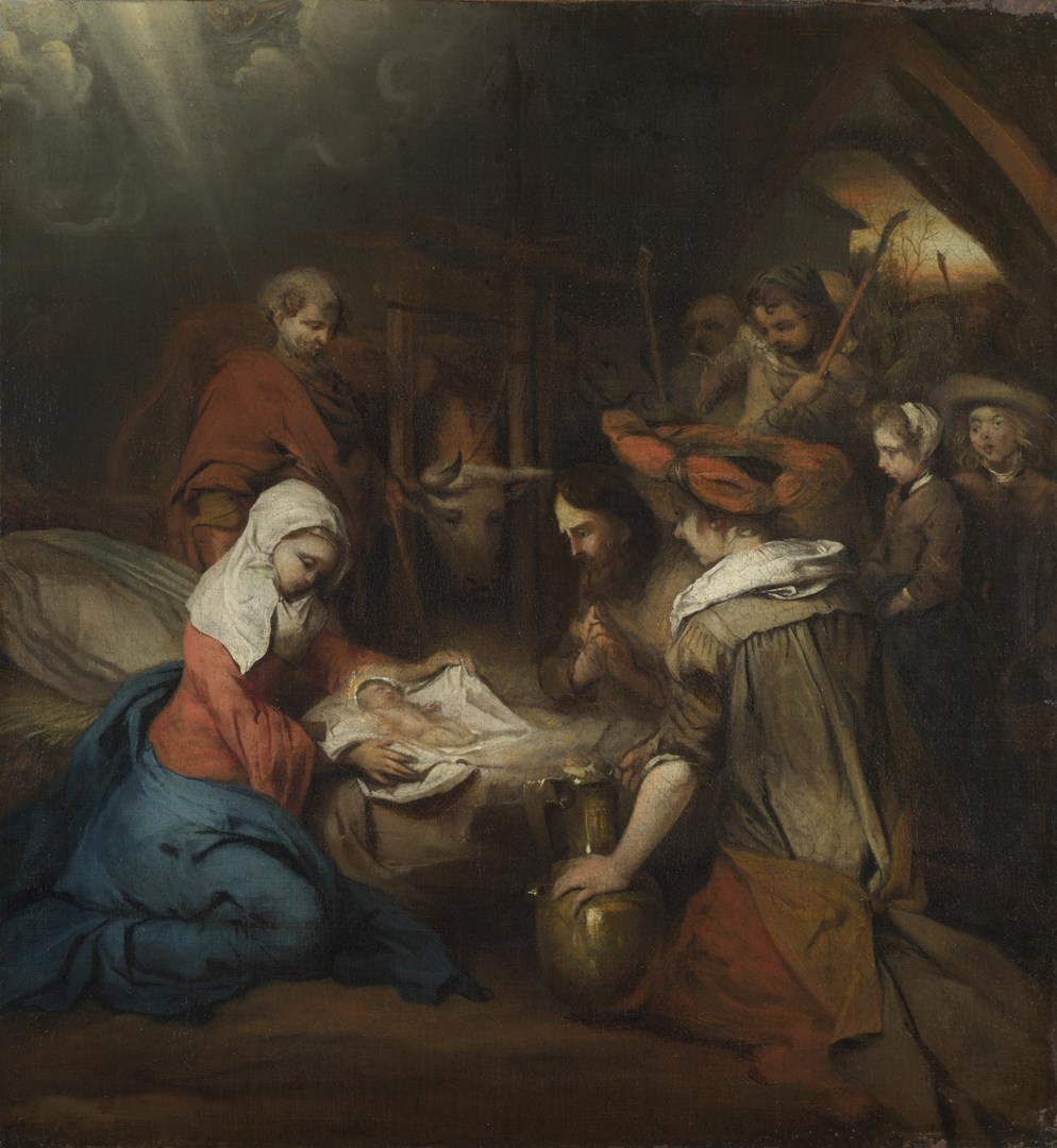 The Adoration of the Shepherds by Barent Fabritius