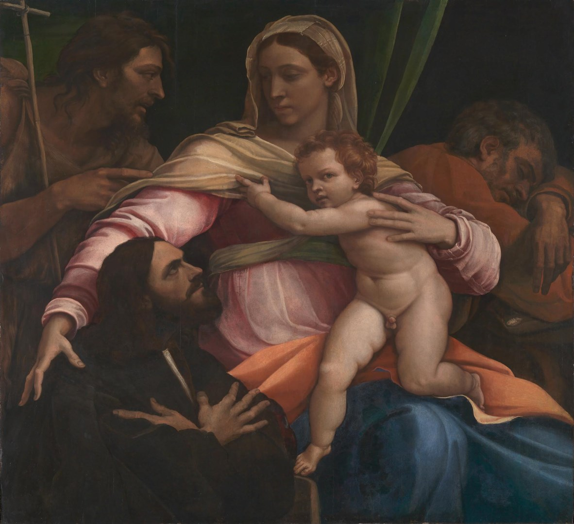 The Madonna and Child with Saints and a Donor by Sebastiano del Piombo