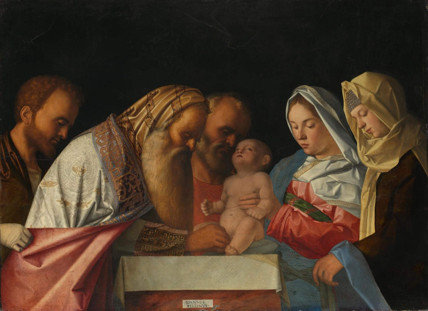 The Circumcision by Workshop of Giovanni Bellini