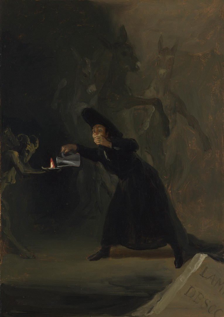A Scene from 'The Forcibly Bewitched' by Francisco de Goya
