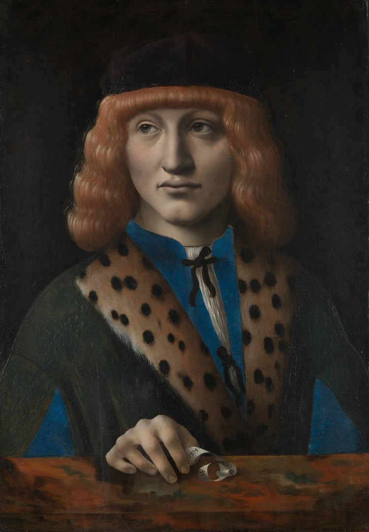 Portrait of a Man aged 20 ('The Archinto Portrait') by Marco d'Oggiono