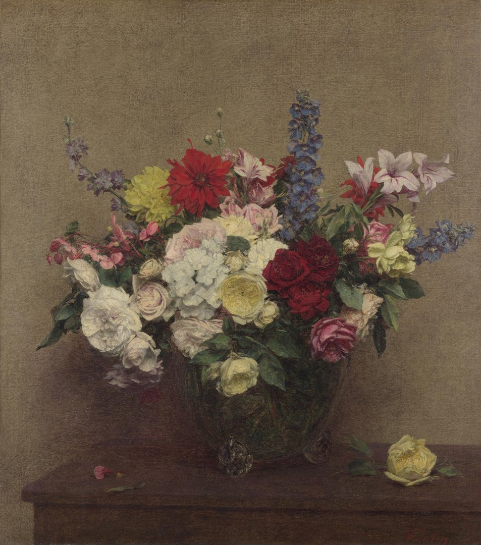 The Rosy Wealth of June by Ignace-Henri-Théodore Fantin-Latour