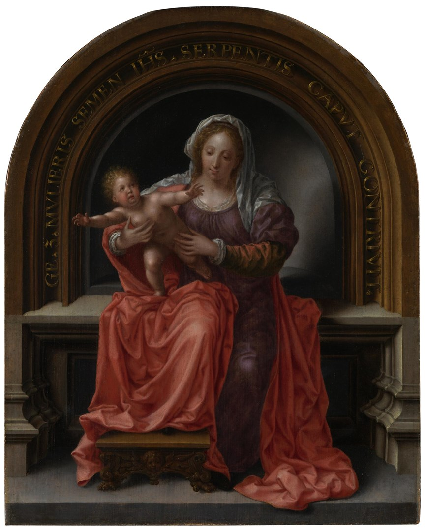 The Virgin and Child by Jan Gossaert (Jean Gossart)