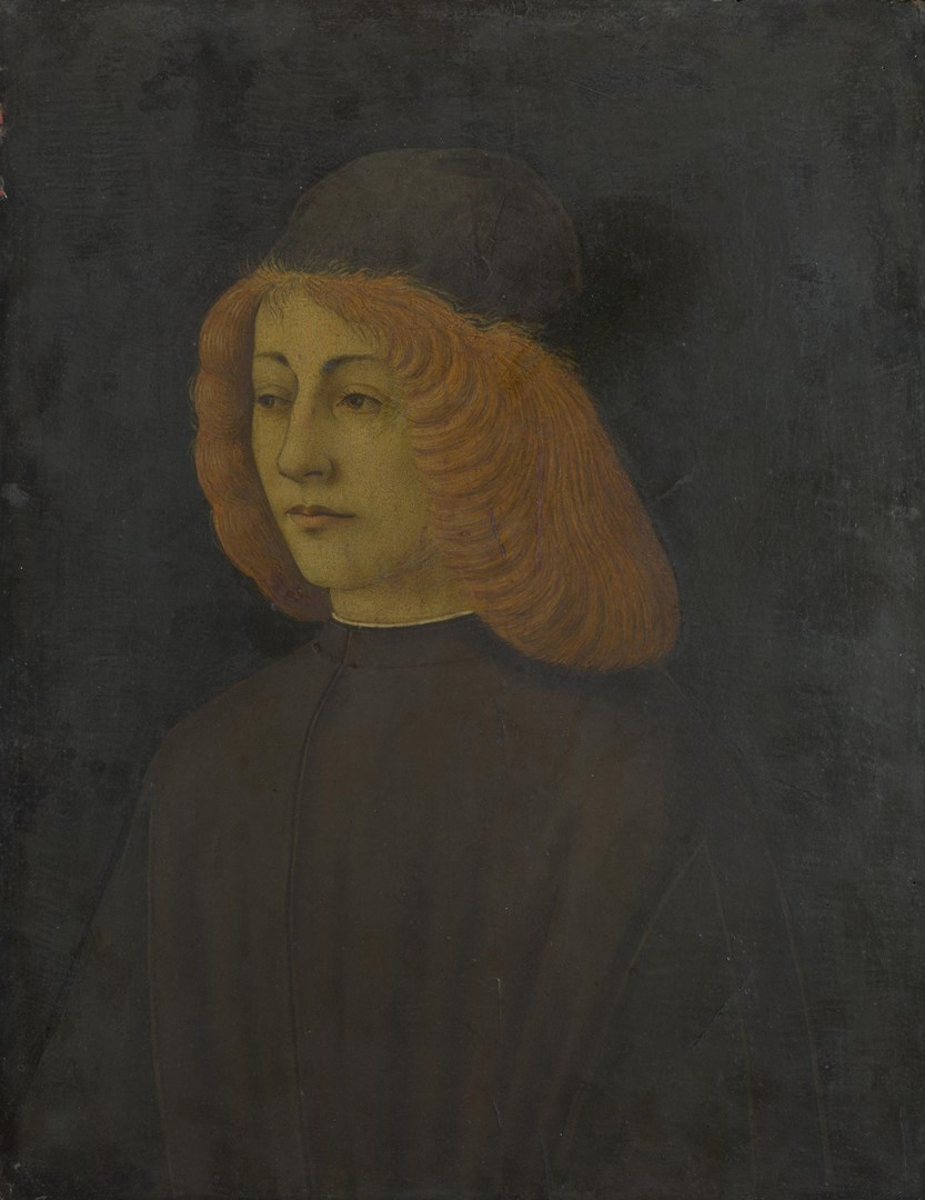 Portrait of a Young Man by Italian