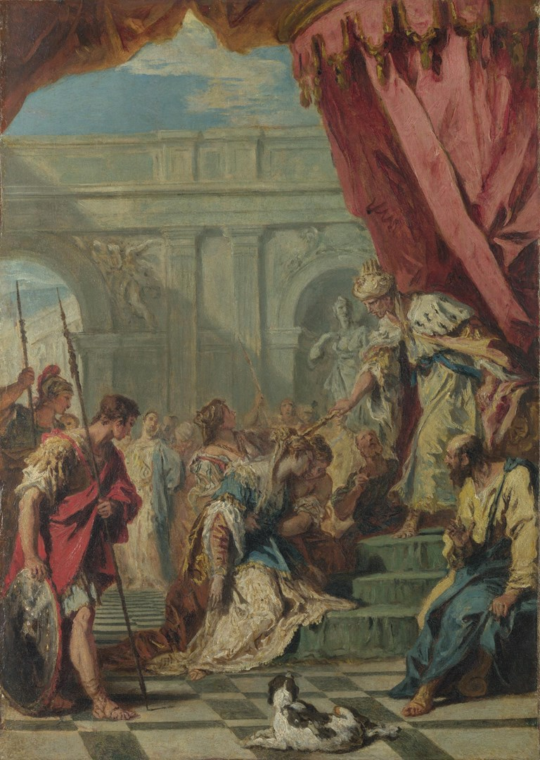 Esther before Ahasuerus by Sebastiano Ricci