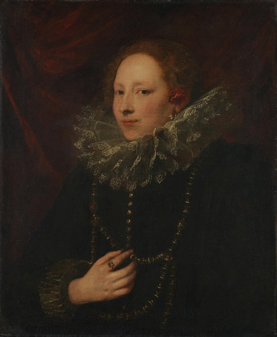 Portrait of a Woman by Anthony van Dyck