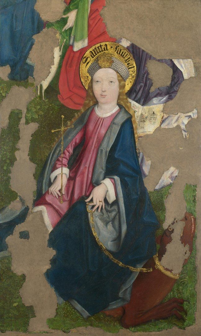 Saint Margaret by Circle of the Master of Liesborn