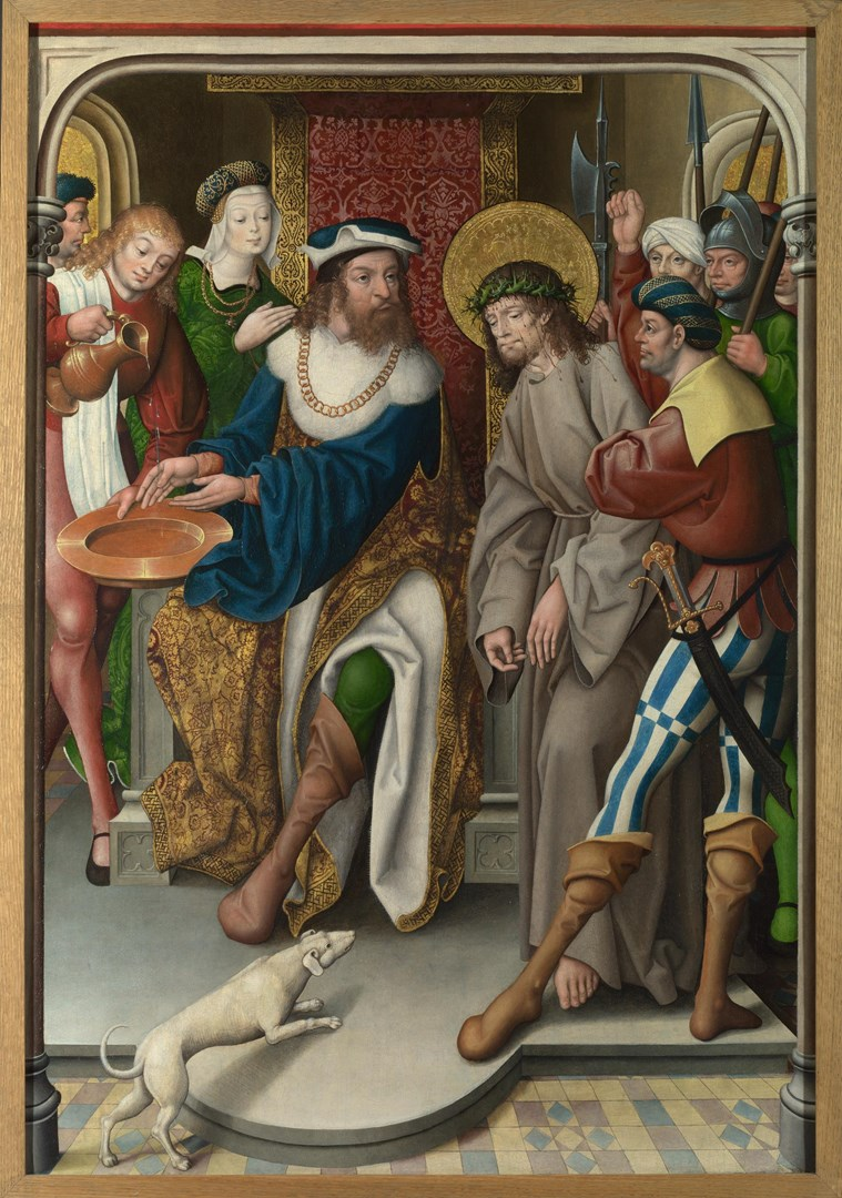 Christ before Pilate by Master of Cappenberg (Jan Baegert?)