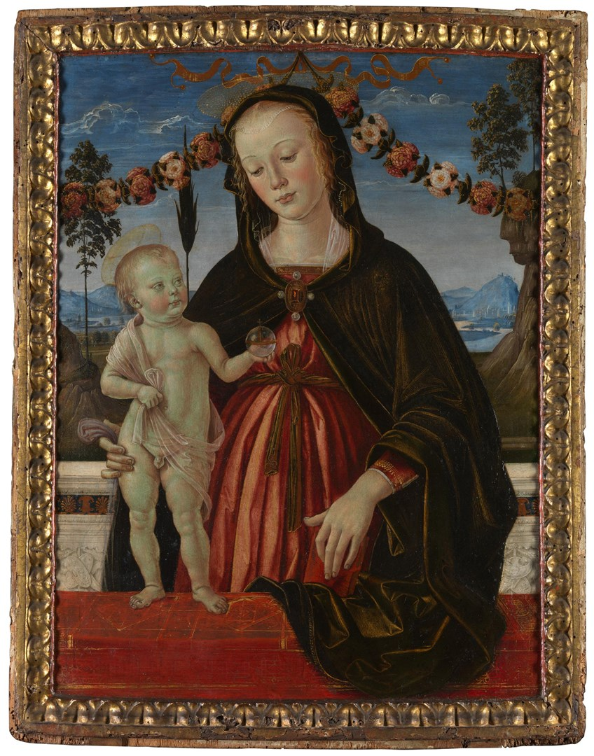 The Virgin and Child by Italian, Umbrian