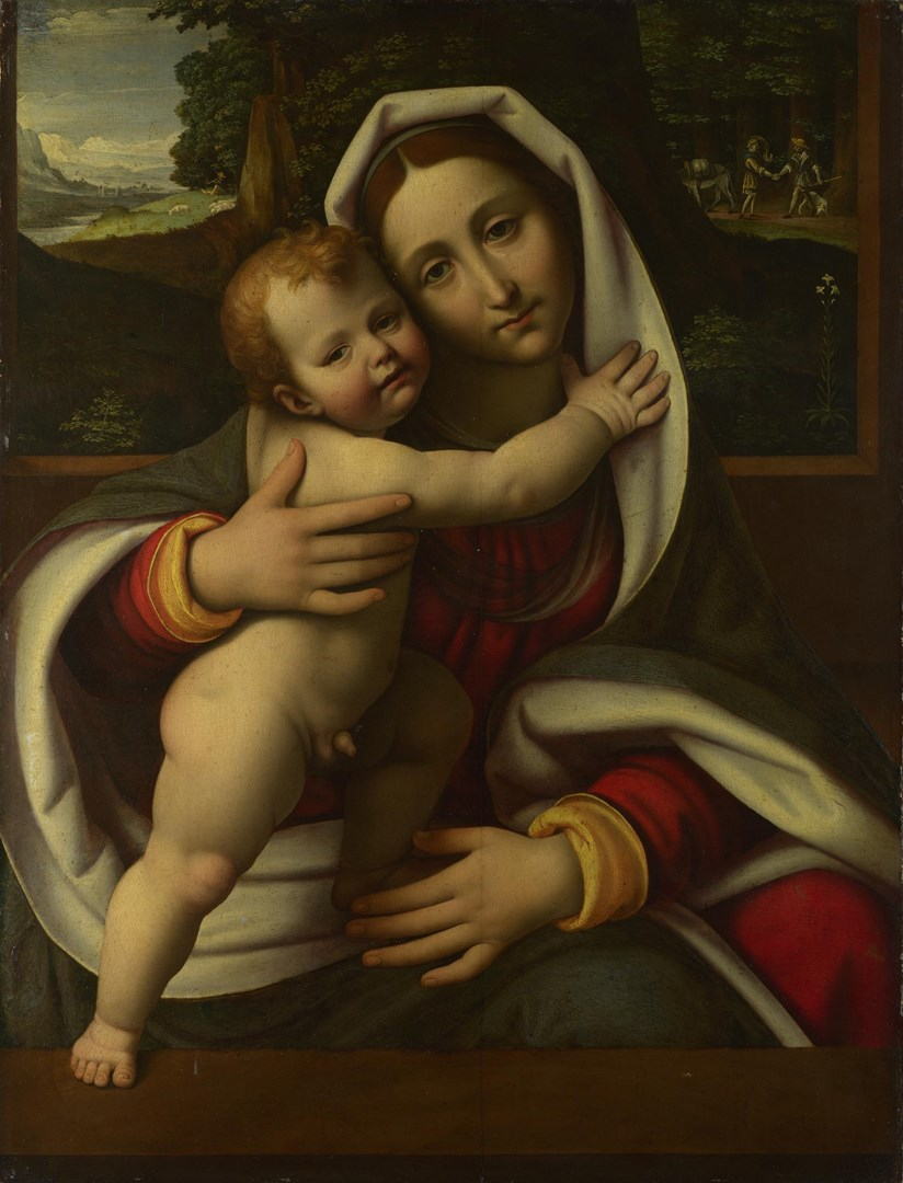 The Virgin and Child by Workshop of Andrea Solario