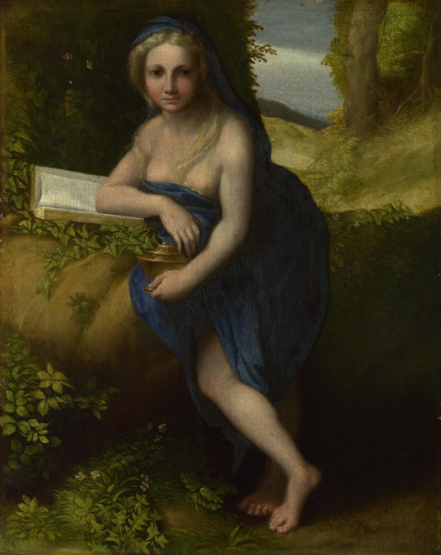 The Magdalen by Probably by Correggio