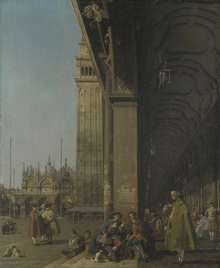 Venice: The Piazza San Marco by Canaletto