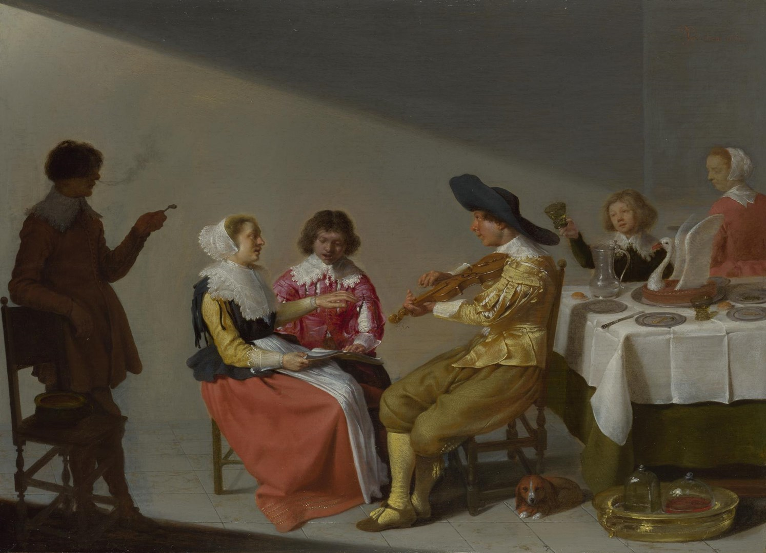 A Musical Party by Jacob van Velsen