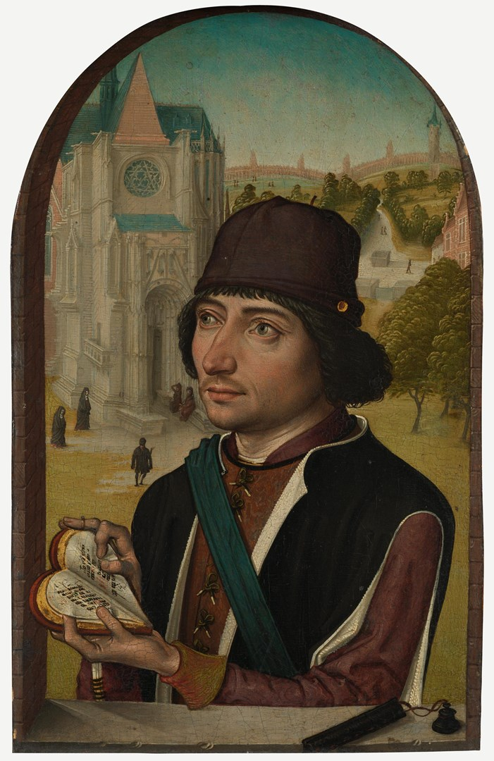 Portrait of a Young Man by Master of the View of St Gudula