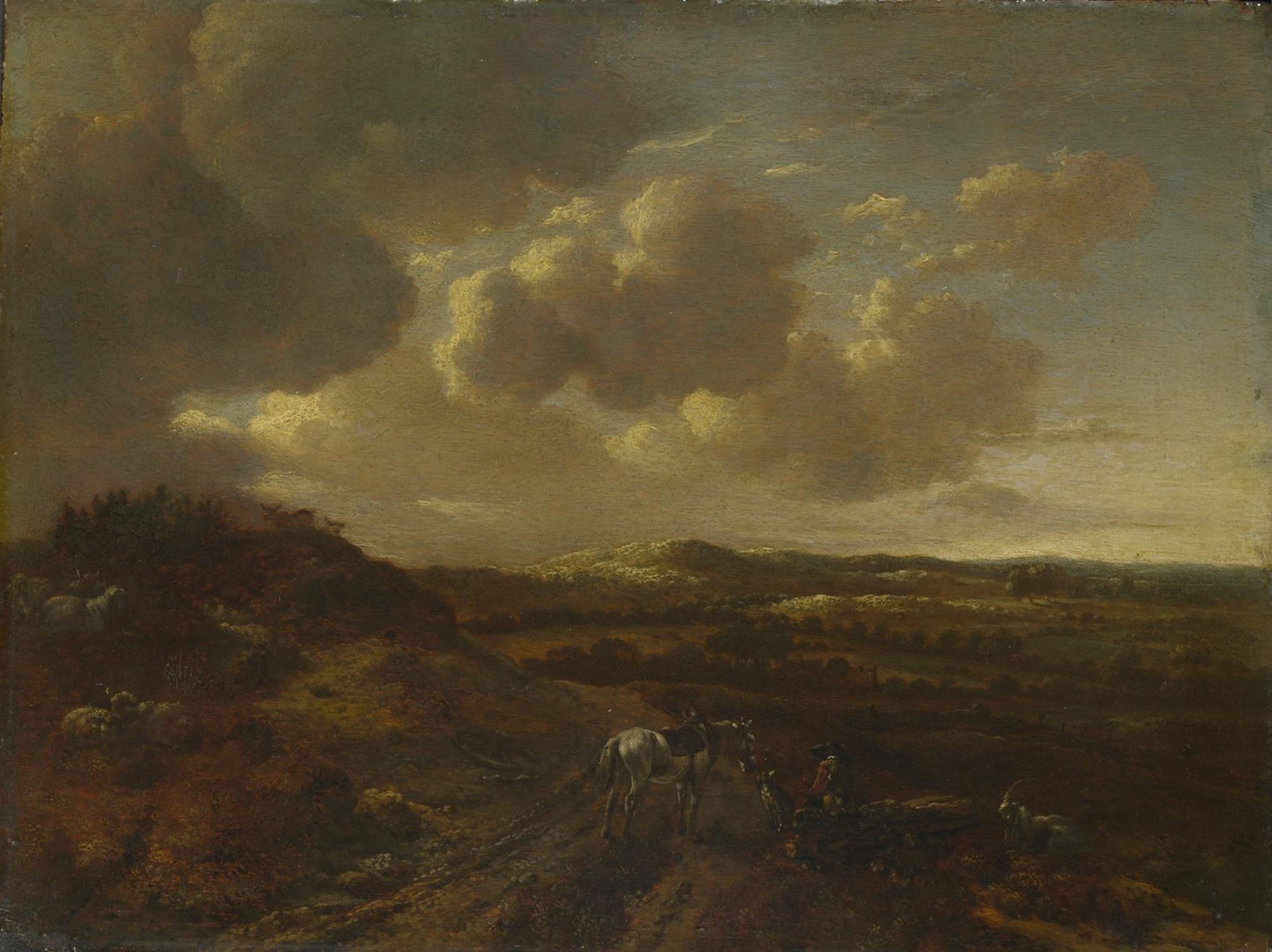 A Dune Landscape by Willem Buytewech the Younger
