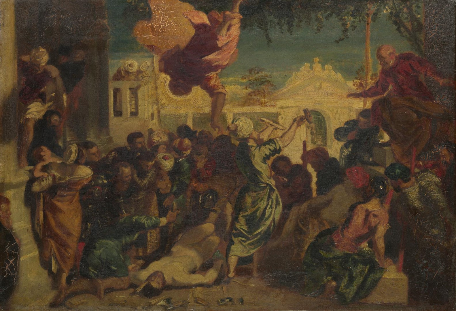 The Miracle of Saint Mark by After Jacopo Tintoretto