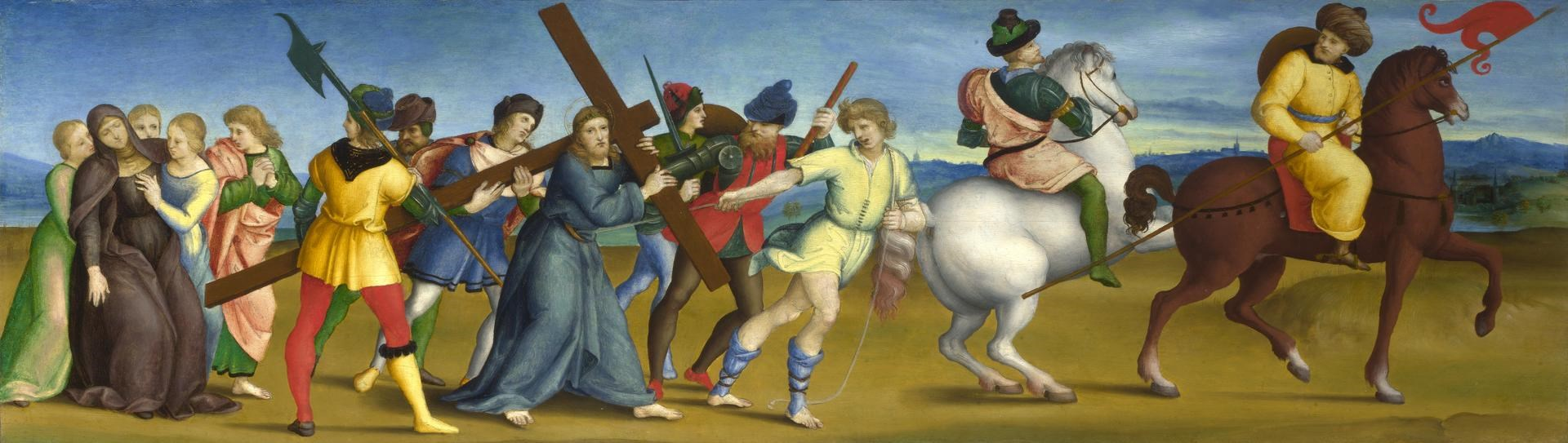 The Procession to Calvary by Raphael