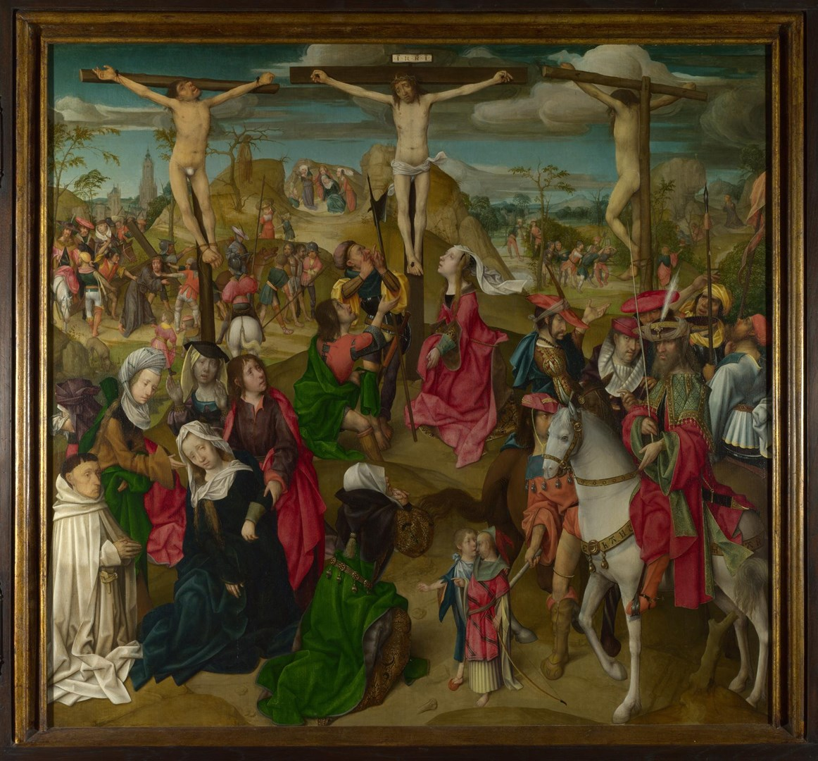 The Crucifixion: Central Panel by Master of Delft
