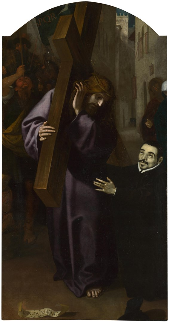 The Vision of Father Simón by Francisco Ribalta