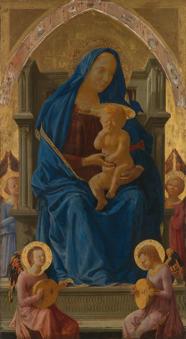 The Virgin and Child by Masaccio
