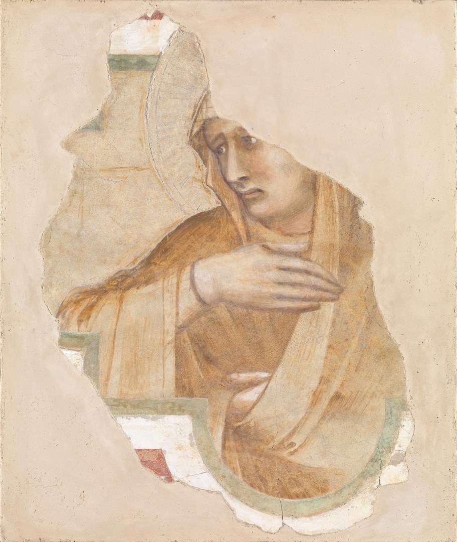 A Female Saint by Pietro Lorenzetti and Workshop