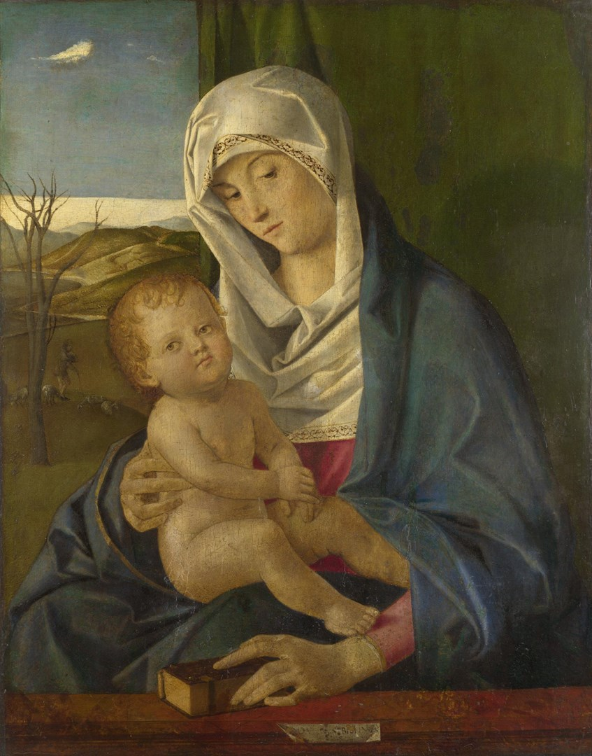 The Virgin and Child by Workshop of Giovanni Bellini