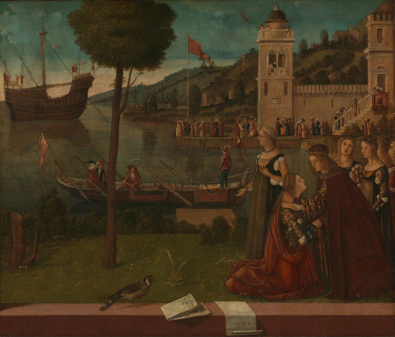 The Departure of Ceyx by Vittore Carpaccio