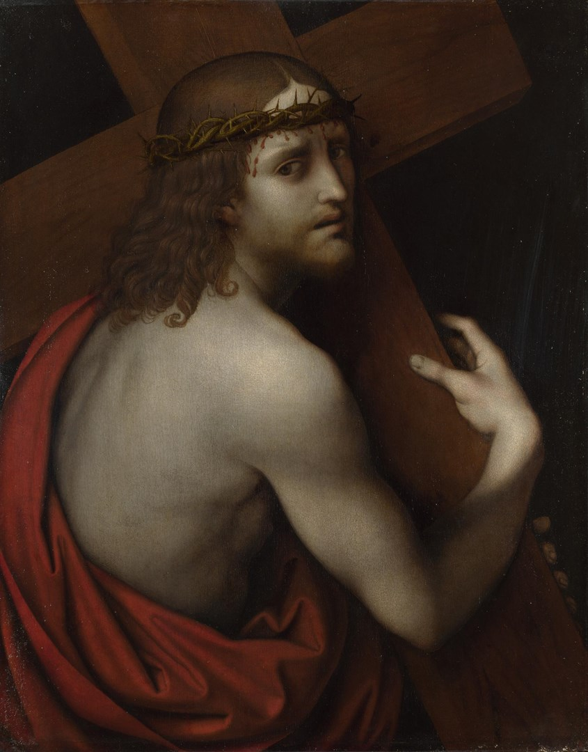 Christ carrying his Cross by Giampietrino
