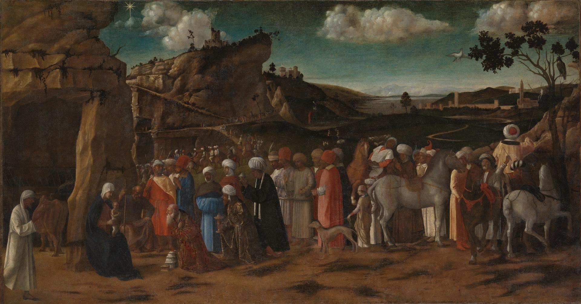 The Adoration of the Kings by Workshop of Giovanni Bellini