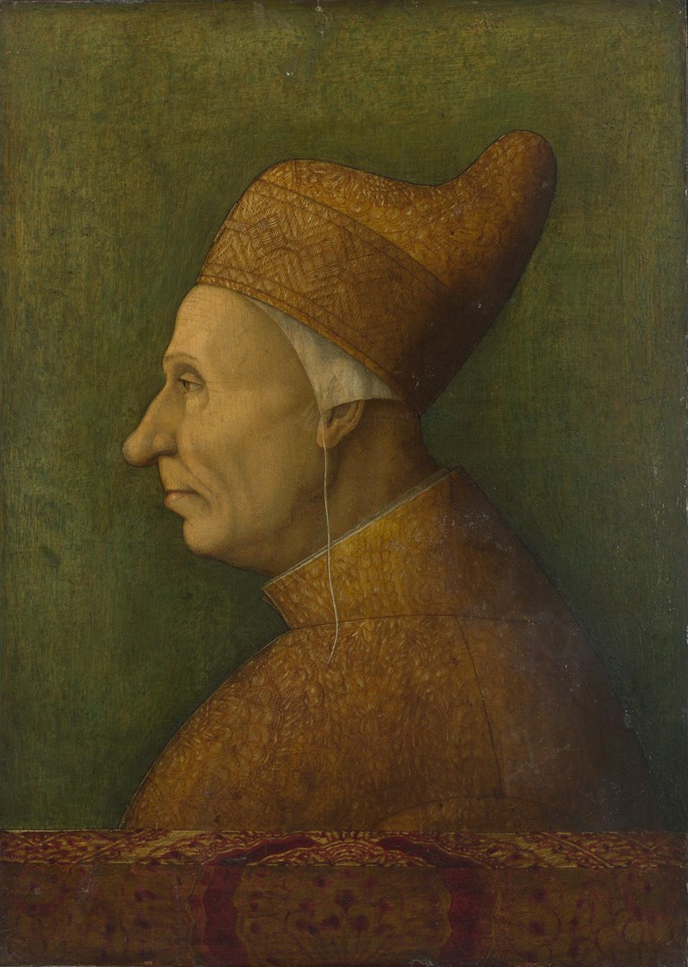 Doge Niccolò Marcello by After Gentile Bellini