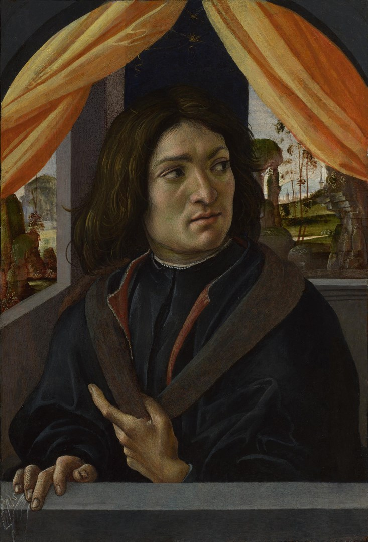 Portrait of a Man by Raffaellino del Garbo