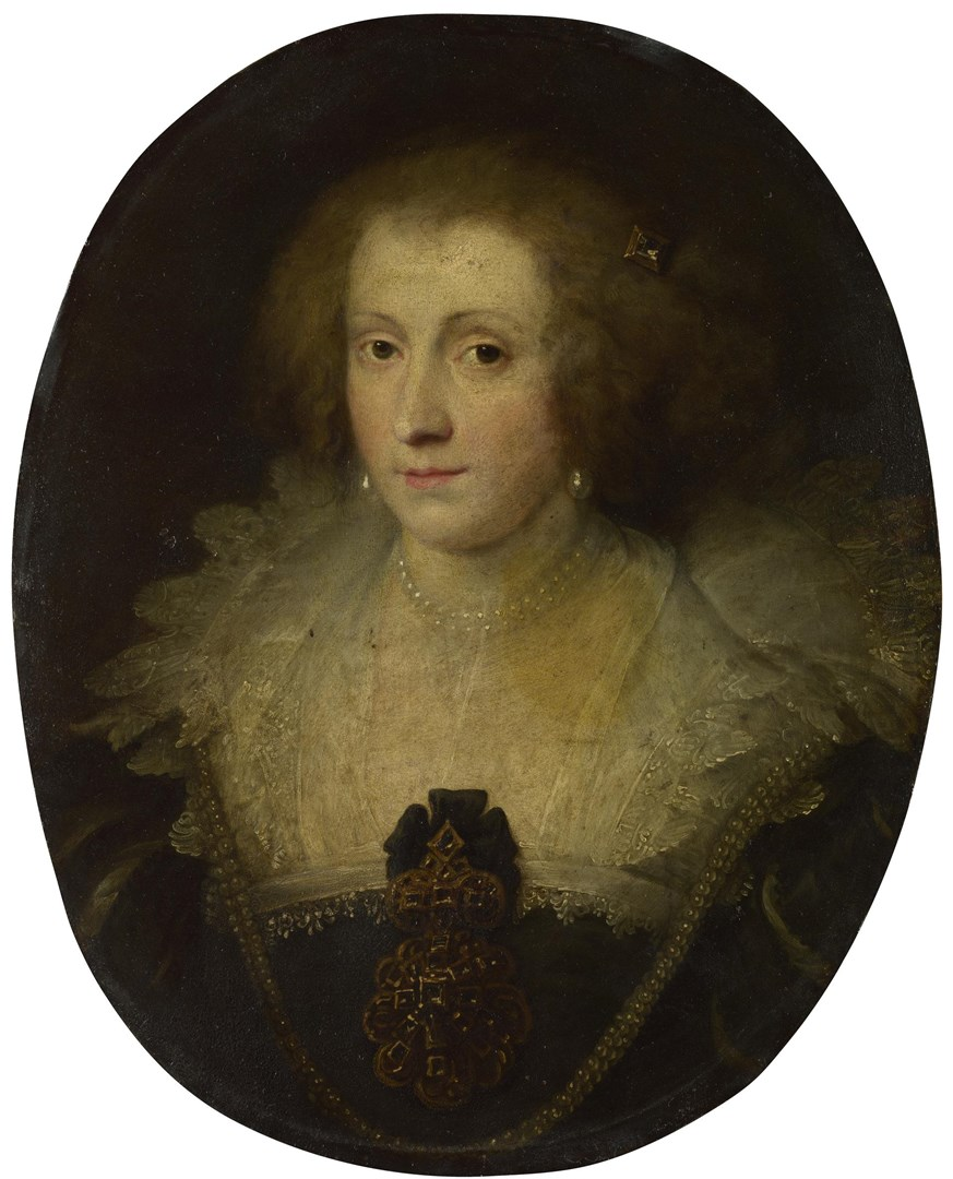Portrait of a Woman by Style of Anthony van Dyck