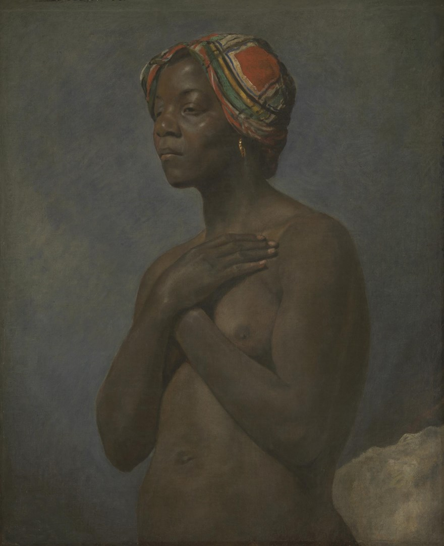 A Black Woman by French