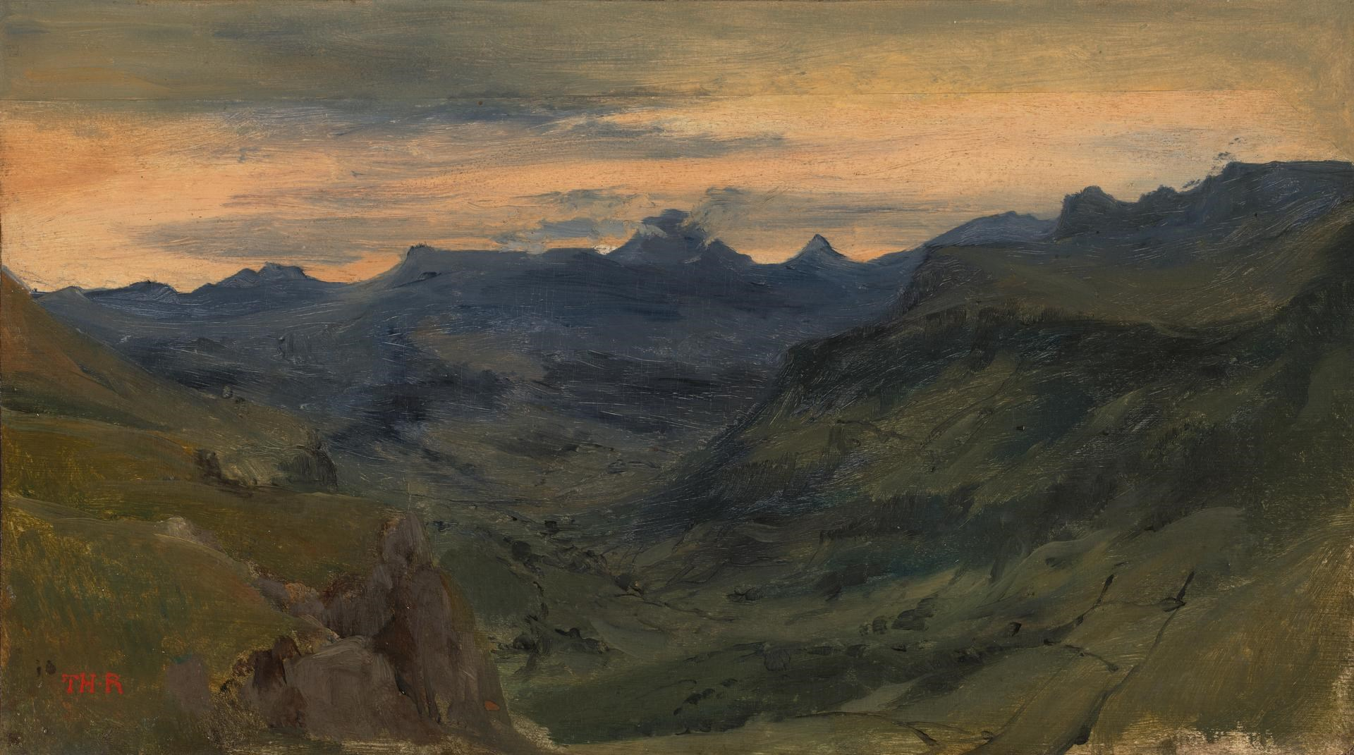 The Valley of Saint-Vincent by Théodore Rousseau