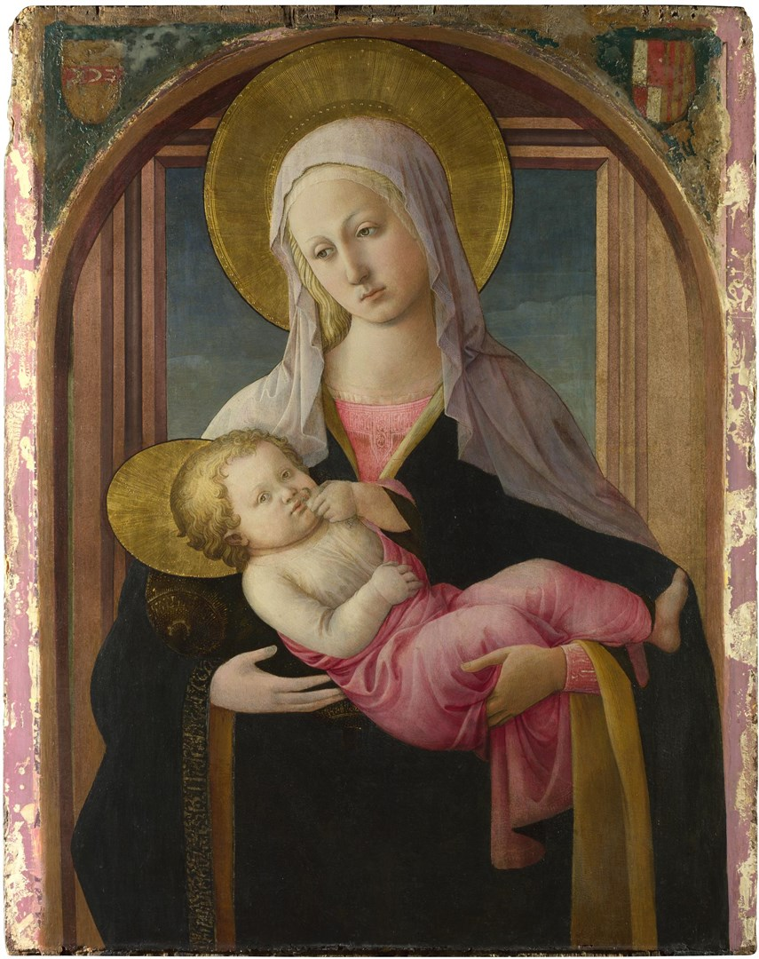 The Virgin and Child by Fra Filippo Lippi and workshop