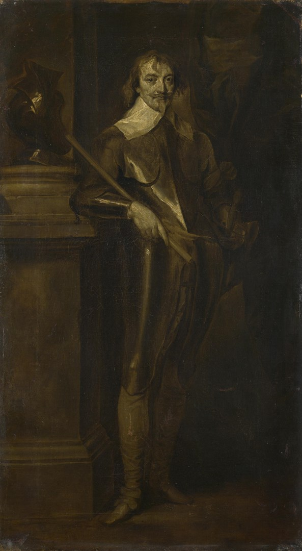 Portrait of Robert Rich, 2nd Earl of Warwick by After Anthony van Dyck