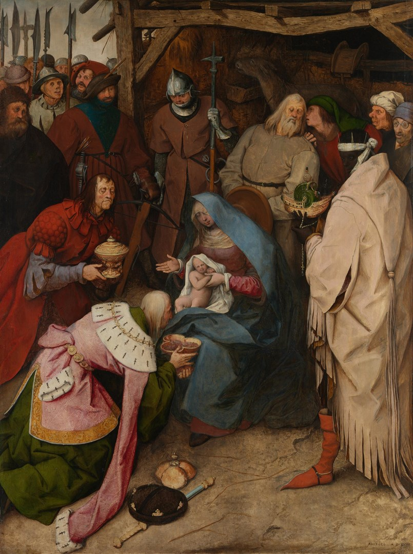 The Adoration of the Kings by Pieter Bruegel the Elder