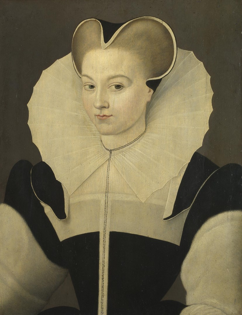 Portrait of a Young Woman by Workshop of François Quesnel