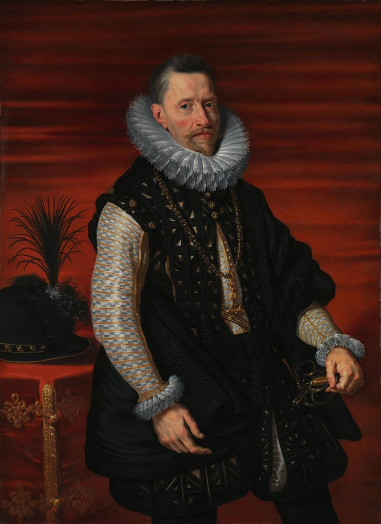 Portrait of the Archduke Albert by Studio of Peter Paul Rubens